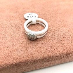 Кольцо из керамики 12 KER-0030
