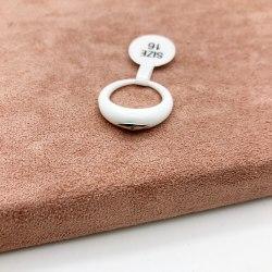 Кольцо из керамики 20 KER-0038