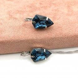 Серьги с кристаллом 46 S-00128