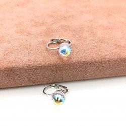 Серьги с кристаллом 52 S-00134