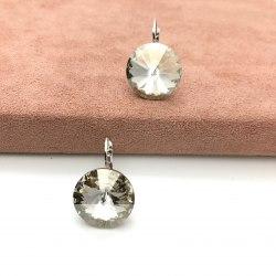 Серьги с кристаллом Сваровски 2 S-00155