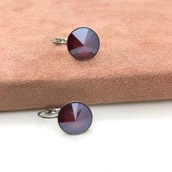 Серьги с кристаллом Сваровски 15 S-00168