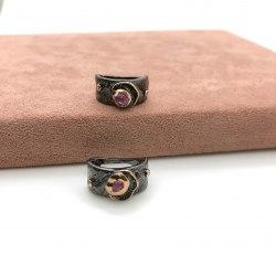 Серьги с натуральными камнями 10 S-00207