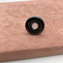 Кольцо из керамики 38 KER-0081
