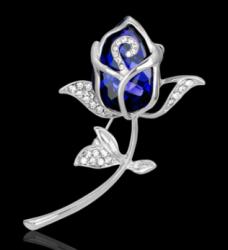 Брошь Тюльпан b-070