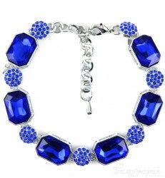 Браслет вечерний синий bc-056
