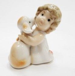 """Статуэтка """"Мальчик с ягненком"""" Pavone Art.10180"""