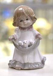 "Статуэтка ""Ангелочек с птенцами"" Pavone art.10177"