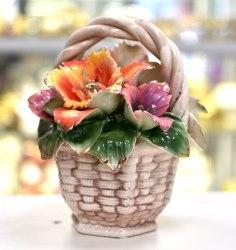 """Сувенир """"Ваза с цветами"""" Pavone art.10166"""