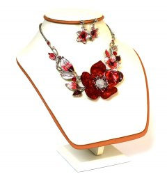 Комплект Цветок красный Корея kt-017