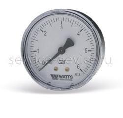 Манометр аксиальный Watts F+R100