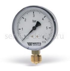 Манометр радиальный Watts F+R200