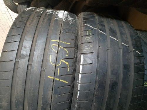 Пара шин 255/35zR19 Dunlop Sp maxx
