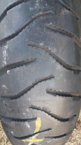 Мотошина 170/60R17 Michelin Anakee 3