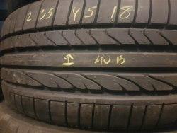 Одна шина 235/45R18 Bridgestone Re050a (Бок ремонт гарантия до полного износа) нов. Сост.