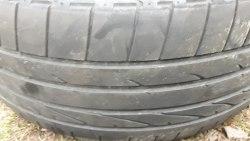 Пара шин 255/45R20 Bridgestone Dveller HP