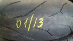 Мотошина 180/55R17 Pirelli rosso