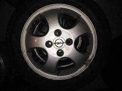 Комплект дисков R 14 4-100 dia 56,6 Opel