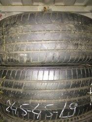 Пара шин 245-45 R19. Pirelli Pzero