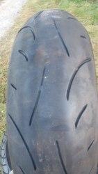 Мотошина 180/55R17. Dunlop Sportmax D214