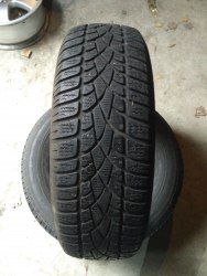Пара шин 195/65R15 Dunlop Sp Winter Sport 3D