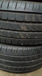 Пара шин 215/55R16 Pirelli P7