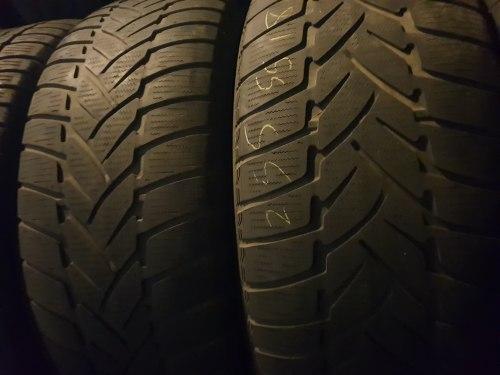 Комплект шин 255/55 R18 Dunlop Grandtrek WT M3 пара6мм пара5мм