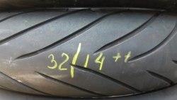 Мотошина 120/70R17 Dunlop D222F