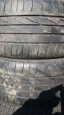 Пара шин 255/45R19 Bridgestone Dueller hp