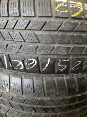 Пара шин 225/60R17 Continental Crosscontact winter