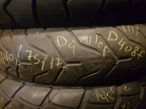 Мотошина 140 75 17 Dunlop D408 F