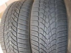 Пара шин 205/55 R16 Dunlop Winter Sport 4D 7мм