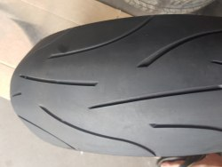 Мотошины 180/55 zr17 Michelin Pilot Power 46 неделя 10 год состояние новой