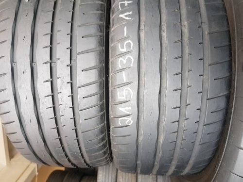 Порошин 215/35 zr17 Ханкук Ventus S1 EVO 7 мм