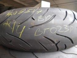 Мотошины 180/55 zr17 Bridgestone Battle AX BT 023 R 8 неделя 14 год 10% износ