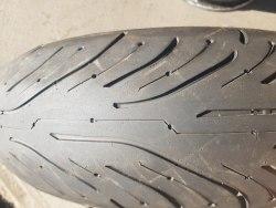 Мотошины 180/55 zr17 Michelin Pilot Road 4 GT 2 CT 20% износ 16 неделя 16 год