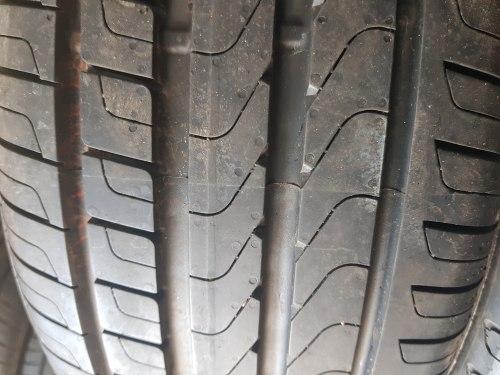 Комплект шин 225/50 R17 Pirelli CINTURATO P 7 Blue состояние новых