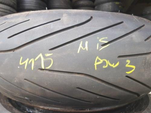 Мотошина 180 55 zr17 Мишелин Pilot Power 34 неделя 15 год 20% износ