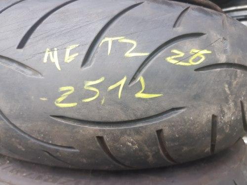 Мотошина 180 55 zr17 Metzeler Z8 25-12 год 10% износ