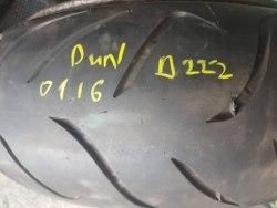 Мотошина 180 55 zr17 Dunlop SportMAX d222 первая неделя шестнадцатый год состояние новый прокол