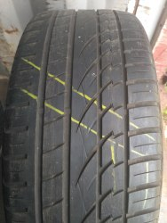 Пара шин 255/45R19 Continental CrossContsct UHP