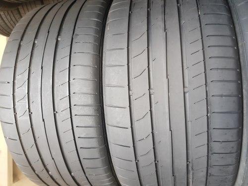 Комплект шин 245/35 R18 Continental Contisportcontact 5 пара 5мм пара состояние новых