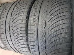Пара шин 285 35 zr19 Michelin Pilot alpin pa4 6 мм 6,5 мм