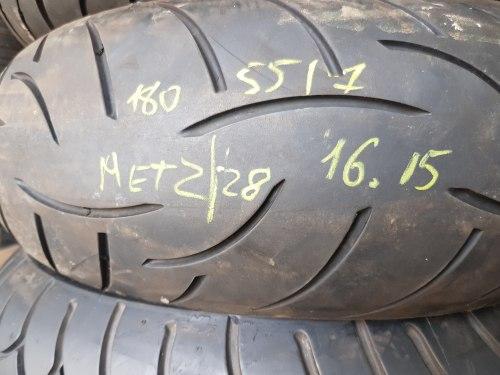 Мотошина 180/55 zr17 Metzeler Roadtec z8 16 неделя 15 год 10% износ