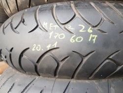 Мотошина 170 60 R17 Metzeler Roadtec Z6 20 неделя 11 год состояние новой