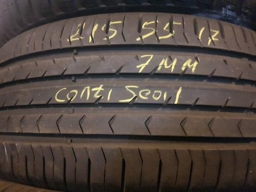 Одна шина 215/55R17 Continental 5