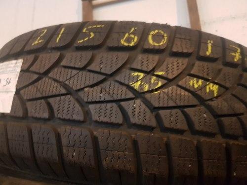 Одна шина 215/60R17 Dunlop 3D