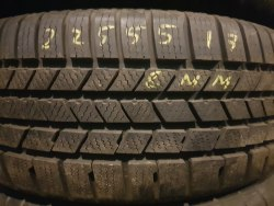 Одна шина 225/55R17 Continental Crosscontact winter