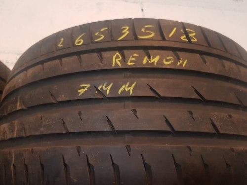 Одна шина 265/35R18 Continental Sport Contact 3 ремонт латка
