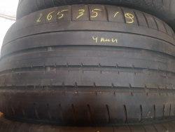 Одна шина 265/35R19 Continental 2